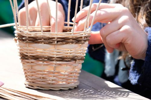 basket basket weave wicker basket