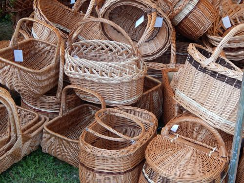basket baskets handicraft