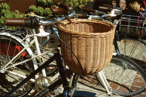 basket bicycle bike