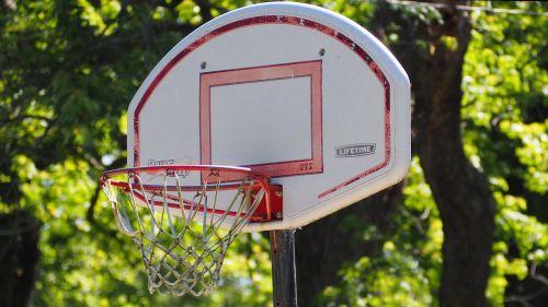 basketball basketball hoop rusted basketball hoop