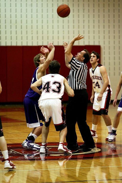 basketball jump ball game