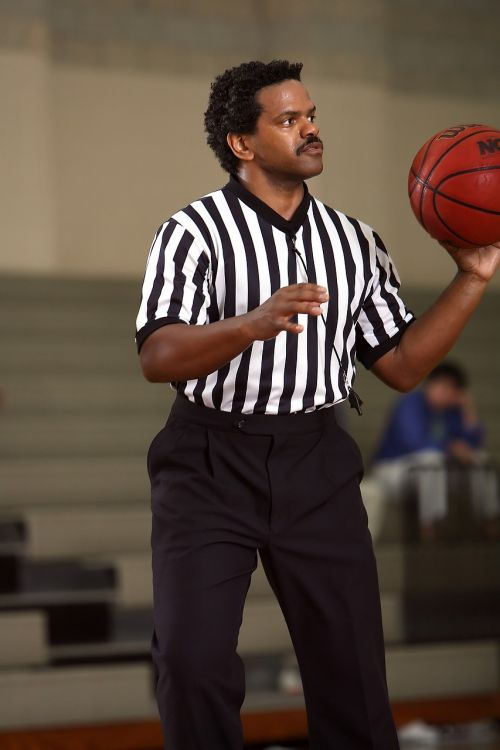 basketball referee official