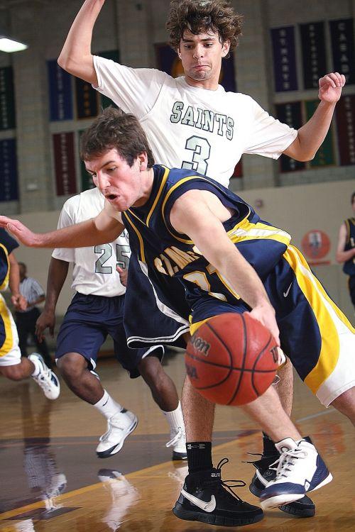 basketball players game