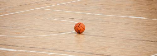 basketball court ball