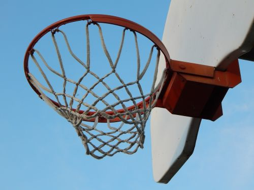 basketball hoop basket