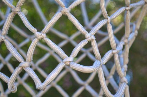 basketball net knots rope