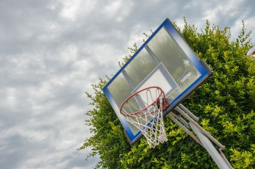 basketball ring clouds activity