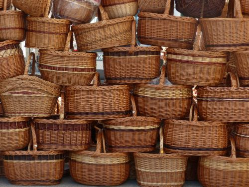 baskets carry cot shopping basket