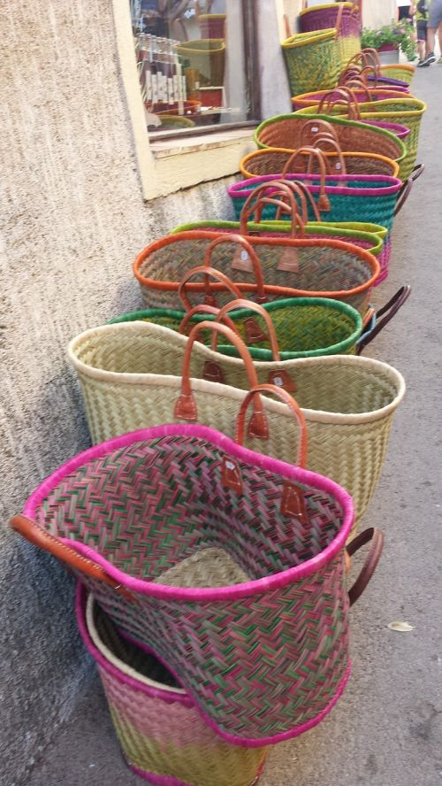 baskets provence color