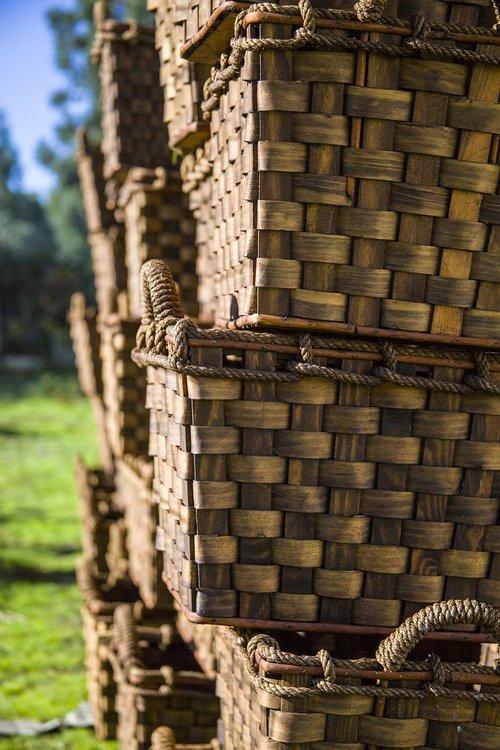 baskets  crafts  manual