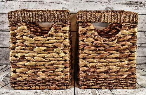 baskets  water hyacinth  natural product