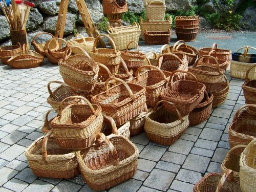 baskets braided handmade product