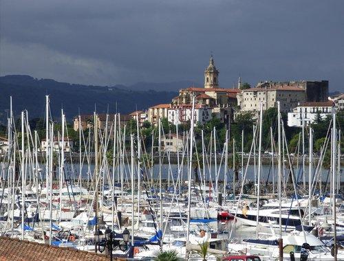 basque country  hondarribia  bidasoa