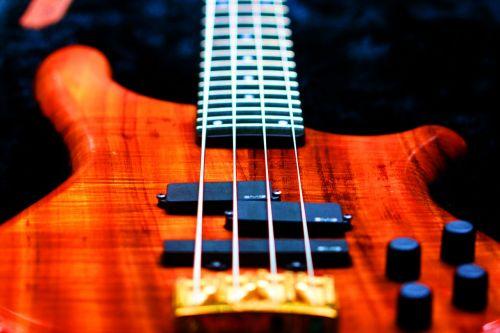 bass guitar koa