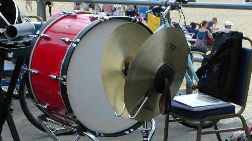 Bass Drum And Cymbals