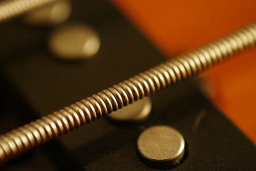 bass string,eilutė,gitara,bosas,Iš arti,muzika