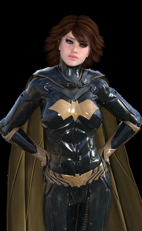 bat girl comic woman