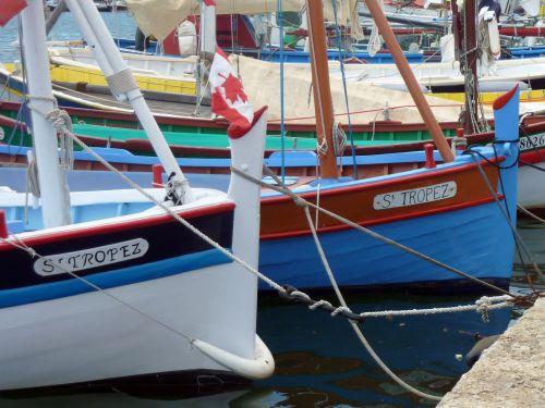 Boats, Port Of Saint Tropez