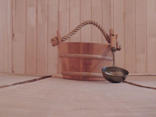 bath sauna pail