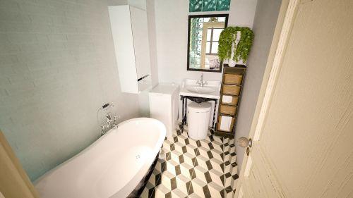 bath house room