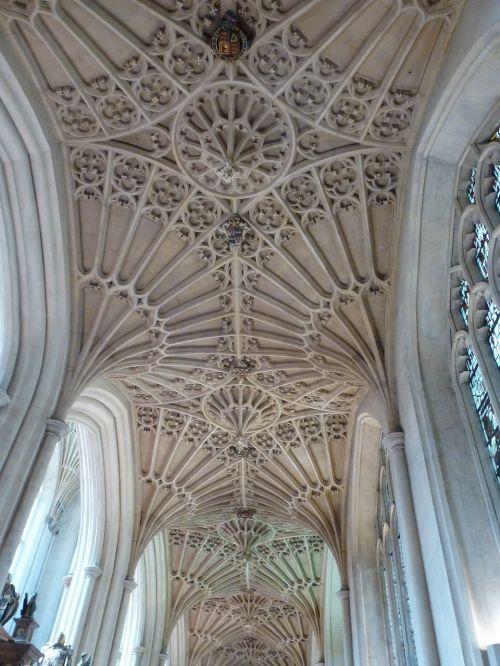 bath abbey england churches