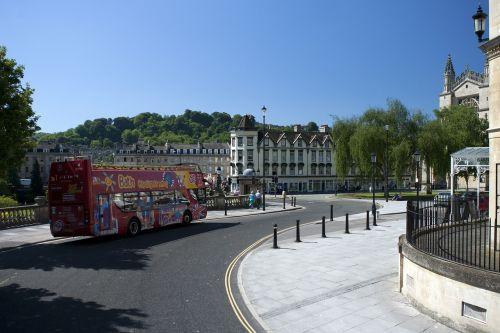 bath abbey city centre