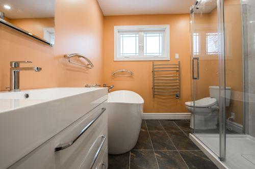bathroom renovation interior