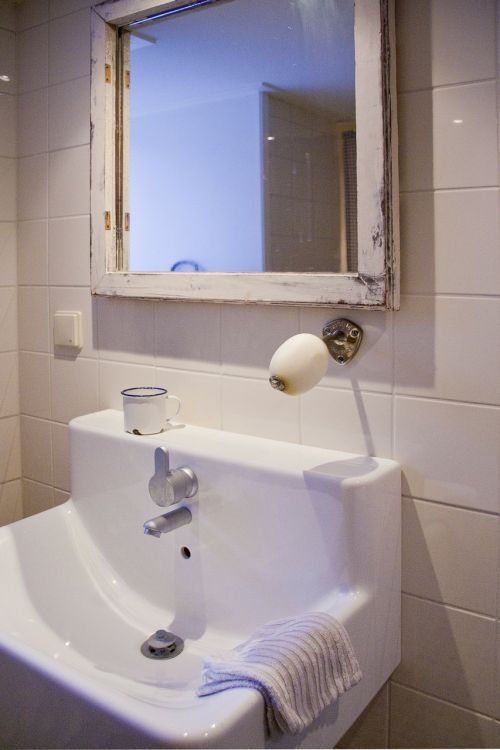 bathroom sink antique look