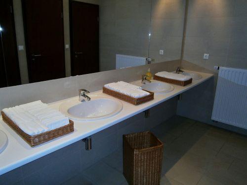 bathroom hotel sink