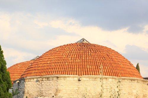 baths  dome  architecture