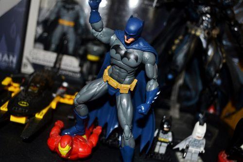batman action figure collection