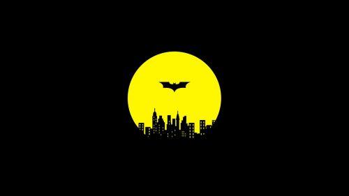 batman gotham city night