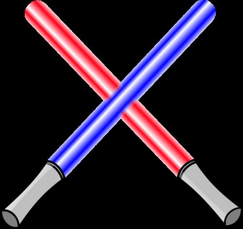 batons wands rods