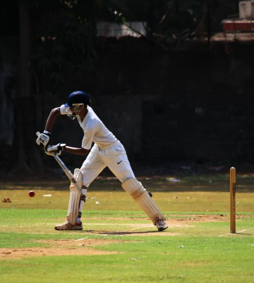 batsman cricket defense