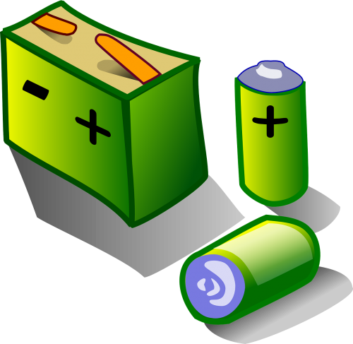 batteries charge power