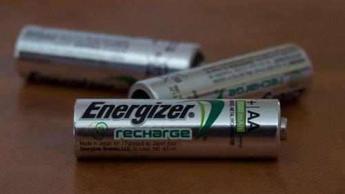 batteries  rechargeable  energizer