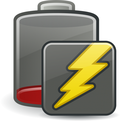 battery charging icons