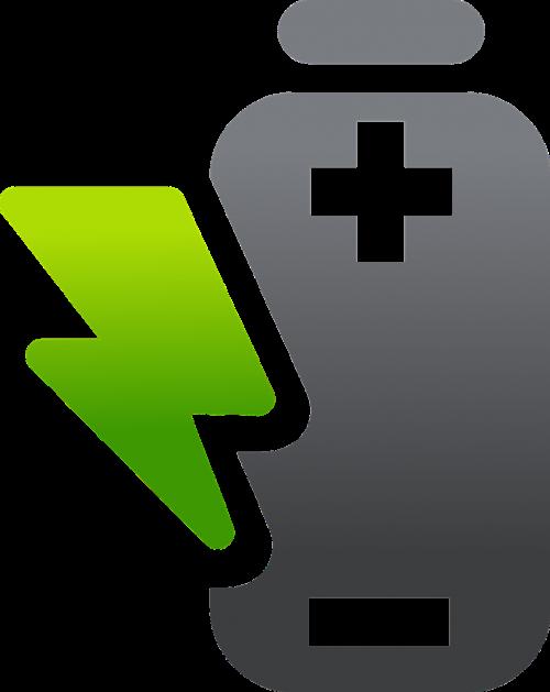 battery symbol music
