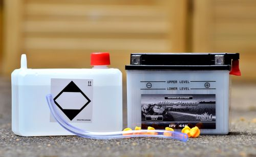 battery motorcycle battery battery acid