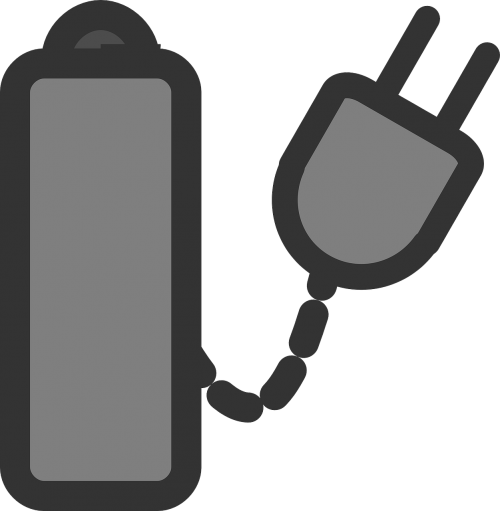 battery charger sign