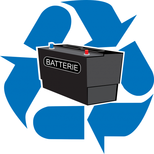 battery electric recycled