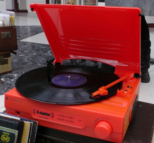 Battery Operated Record Player