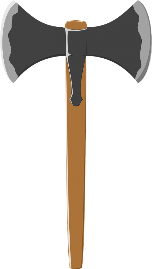 battle axe medieval weapon labrys