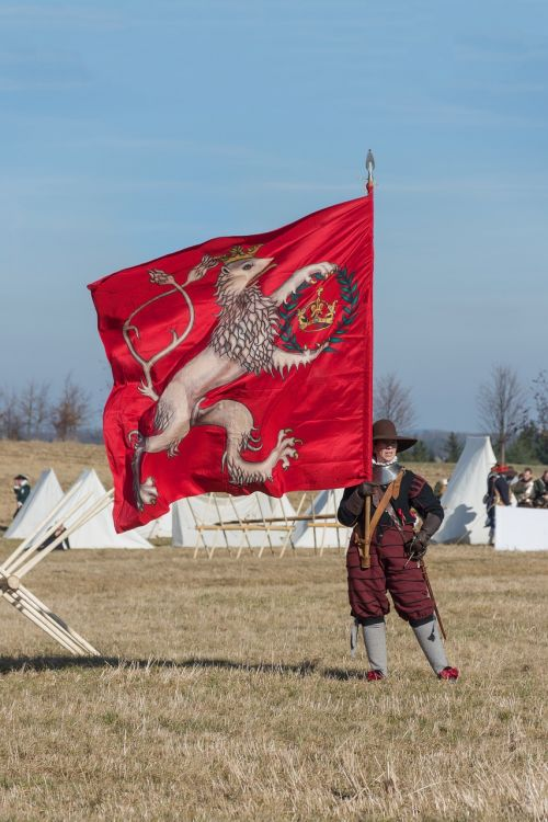 battle of jankau historical costume the flag of the