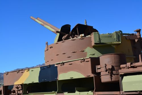 Battle Tank Gun Military Armor USA