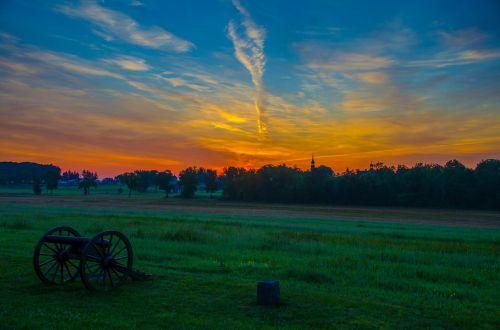 battlefield sky sunrise