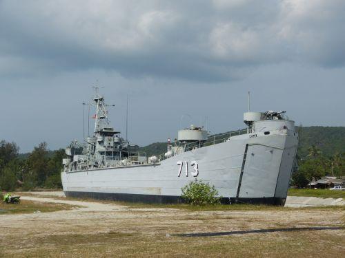Battleship On The Land