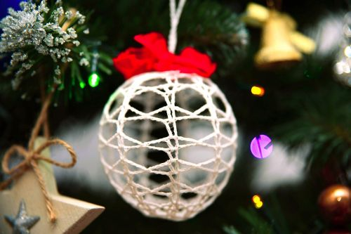 bauble christmas tree ornaments