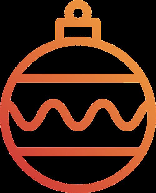 bauble christmas holidays