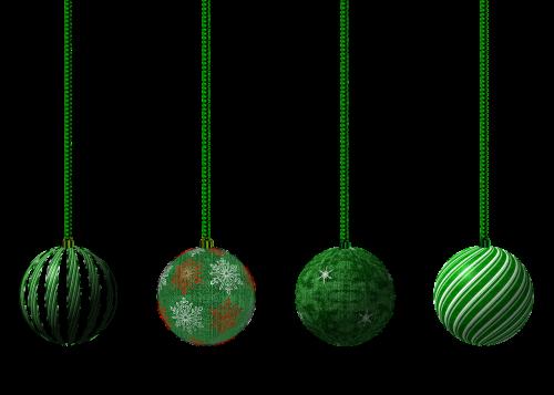 baubles balls decoration